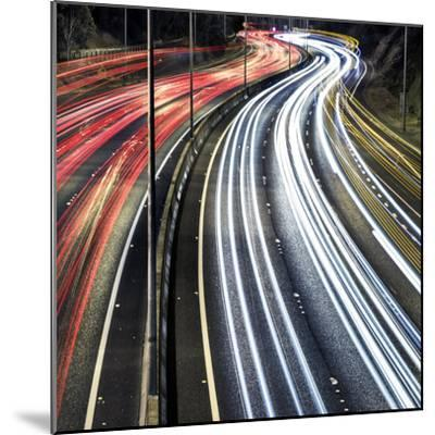 Lines And Curves-SD Smart-Mounted Photographic Print