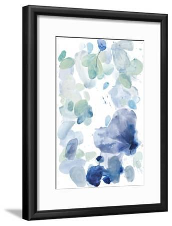 Butterfly Dance in Blue A-Allyson Fukushima-Framed Premium Giclee Print