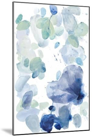 Butterfly Dance in Blue A-Allyson Fukushima-Mounted Premium Giclee Print