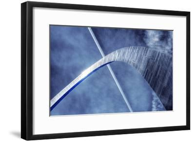 St. Louis Arch 4-Jamie Cook-Framed Premium Giclee Print