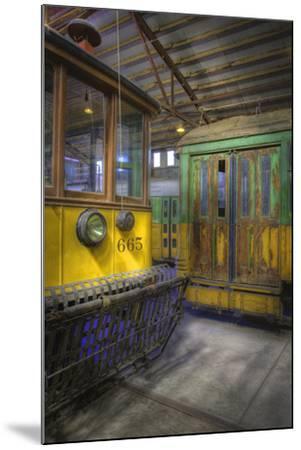 Los Angeles Railway Trolley #665-Robert Hansen-Mounted Premium Photographic Print