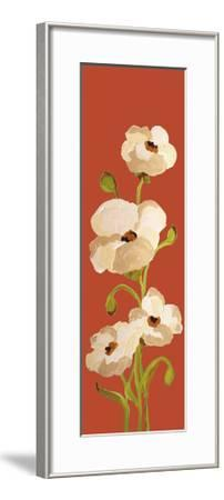 Panels-Red Earth Poppies 2-Soraya Chemaly-Framed Premium Giclee Print