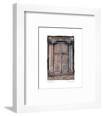 Doors of Cuba I-Maureen Love-Framed Photo