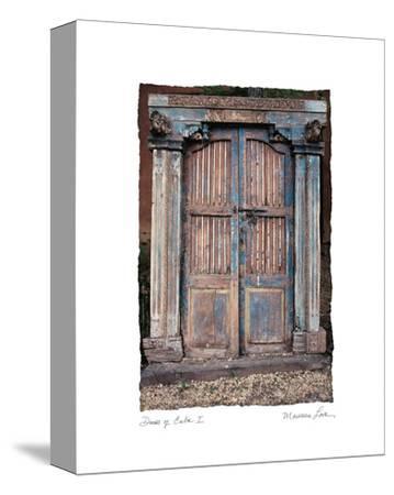 Doors of Cuba I-Maureen Love-Stretched Canvas Print