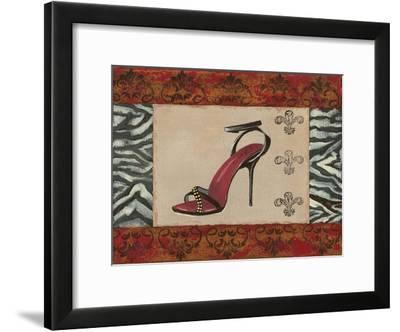 Fashion Shoe II-Sophie Devereux-Framed Art Print