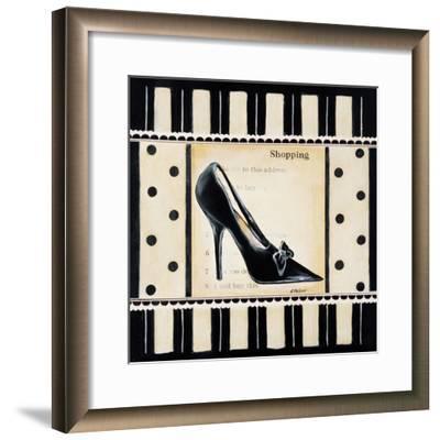 Shopping I-Kimberly Poloson-Framed Art Print