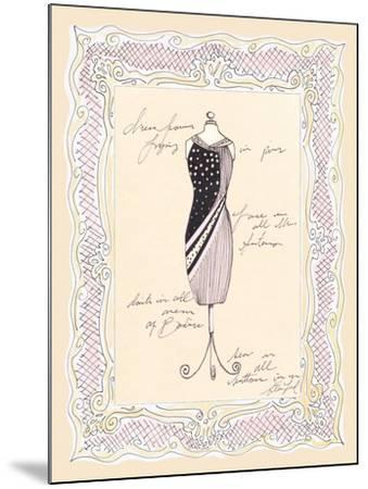 Dress Form I-Steve Leal-Mounted Art Print