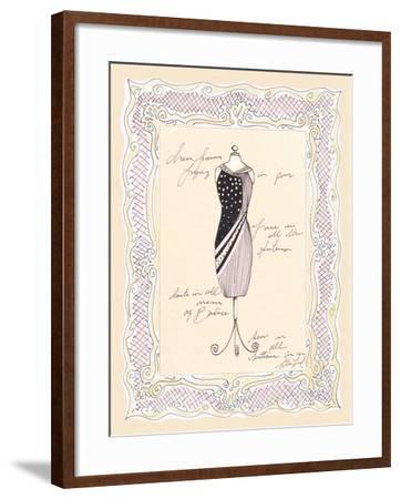 Dress Form I-Steve Leal-Framed Art Print