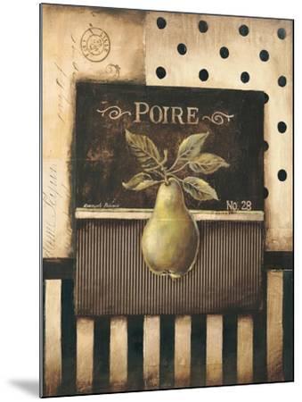Poire-Kimberly Poloson-Mounted Art Print