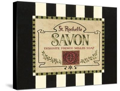 Soap Label-Jillian Jeffrey-Stretched Canvas Print