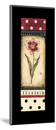 Dutch Tulips II-Kimberly Poloson-Mounted Art Print