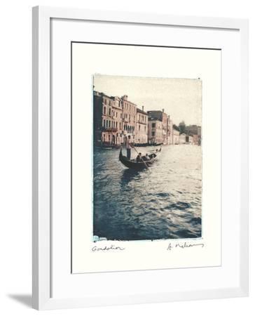 Gondolier-Amy Melious-Framed Art Print