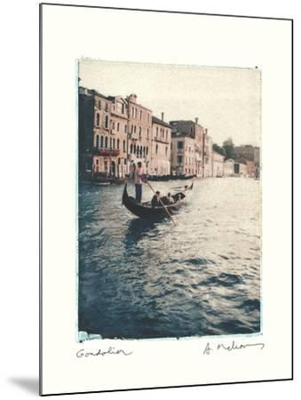 Gondolier-Amy Melious-Mounted Art Print