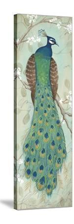 Peacock I-Steve Leal-Stretched Canvas Print