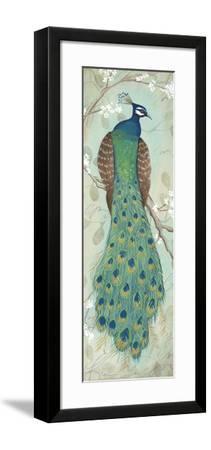 Peacock I-Steve Leal-Framed Art Print