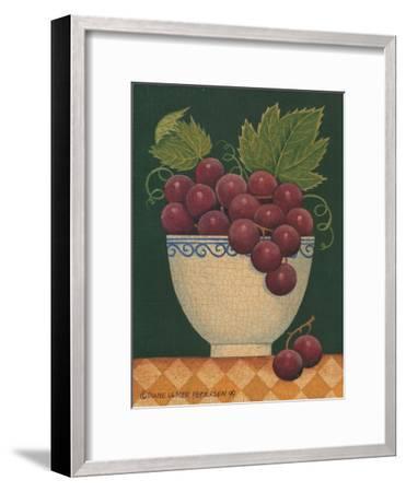 Cup O' Grapes-Diane Pedersen-Framed Art Print