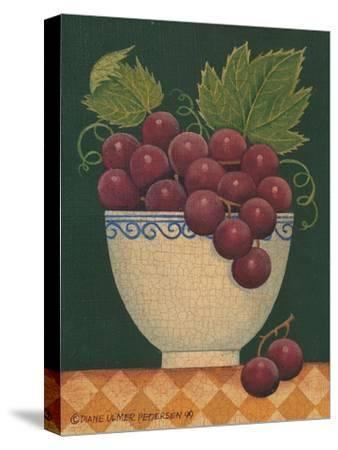 Cup O' Grapes-Diane Pedersen-Stretched Canvas Print