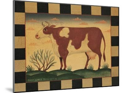 Farm Cow-Diane Pedersen-Mounted Art Print