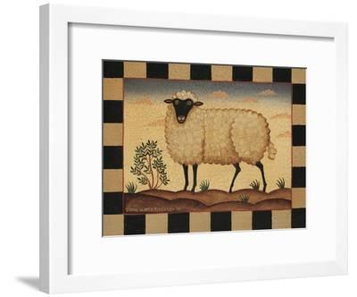 Farm Sheep-Diane Pedersen-Framed Art Print