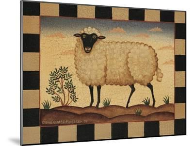 Farm Sheep-Diane Pedersen-Mounted Art Print