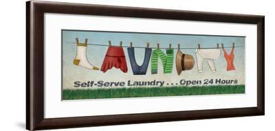 Laundry-N^ Harbick-Framed Art Print