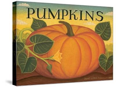 Pumpkins-Diane Pedersen-Stretched Canvas Print