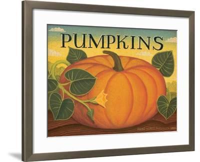 Pumpkins-Diane Pedersen-Framed Art Print