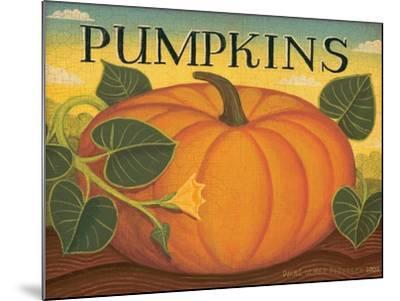 Pumpkins-Diane Pedersen-Mounted Art Print