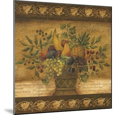 Abundance I-Kimberly Poloson-Mounted Art Print