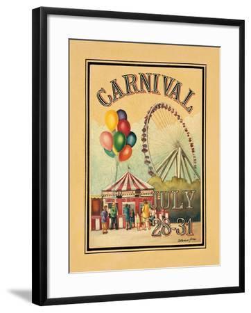 Carnival-Catherine Jones-Framed Art Print