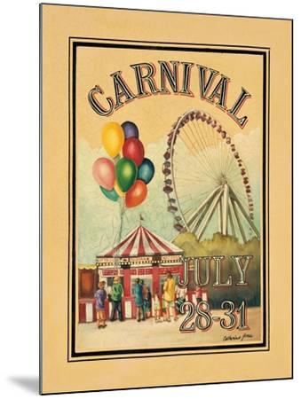 Carnival-Catherine Jones-Mounted Art Print