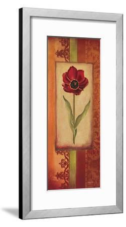 Mediterranean Tulip II-Kimberly Poloson-Framed Art Print