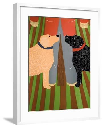 Scarecrow Bottom-Stephen Huneck-Framed Giclee Print