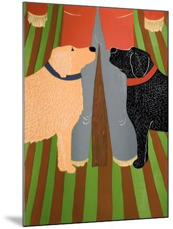 Scarecrow Bottom-Stephen Huneck-Mounted Giclee Print