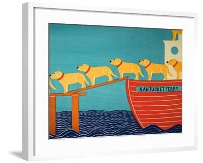 Island Ferry Nan Yellow-Stephen Huneck-Framed Giclee Print