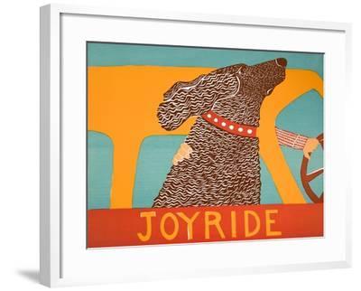 Joyride Choc-Stephen Huneck-Framed Giclee Print