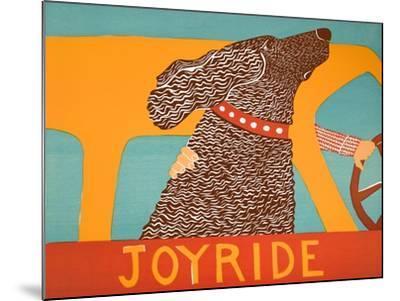 Joyride Choc-Stephen Huneck-Mounted Giclee Print
