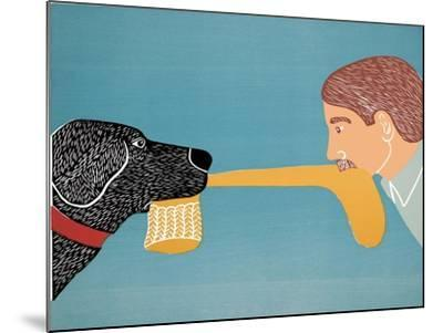 Dogs Bring Out Your Inner Child-Stephen Huneck-Mounted Giclee Print