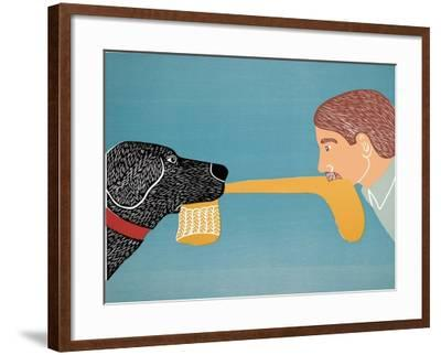 Dogs Bring Out Your Inner Child-Stephen Huneck-Framed Giclee Print