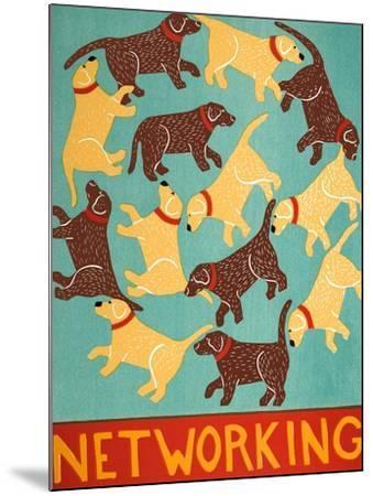 Networking Choc-Stephen Huneck-Mounted Giclee Print