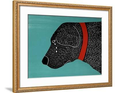 They Sense When You Go Away Black-Stephen Huneck-Framed Giclee Print