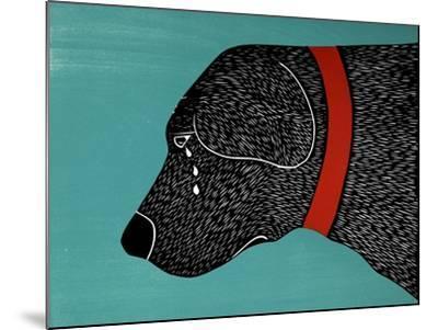 They Sense When You Go Away Black-Stephen Huneck-Mounted Giclee Print