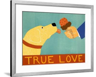 True Love Yellow-Stephen Huneck-Framed Giclee Print