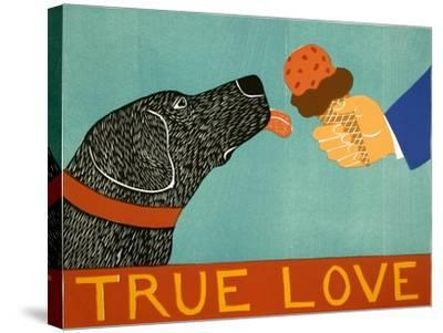 True Love-Stephen Huneck-Stretched Canvas Print