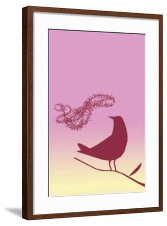 Individual & Crowd-A Richard Allen-Framed Giclee Print