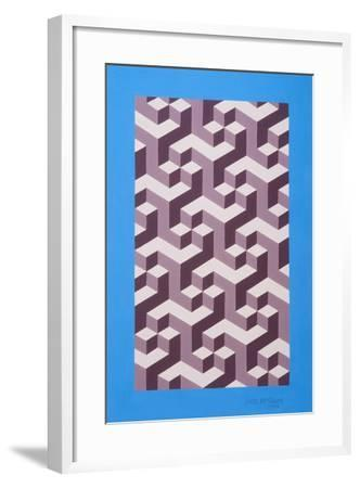 Isometric Composition-Peter McClure-Framed Giclee Print