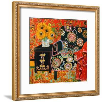 Suzani Decor-Linda Arthurs-Framed Giclee Print