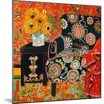 Suzani Decor-Linda Arthurs-Mounted Giclee Print