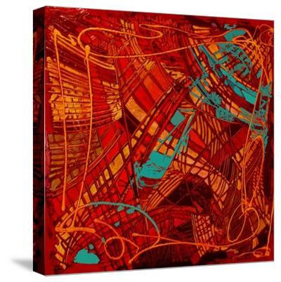 Stained Glass-Linda Arthurs-Stretched Canvas Print