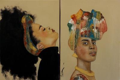 Portraits-Susan Adams-Framed Giclee Print